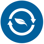 recycling leaf icon